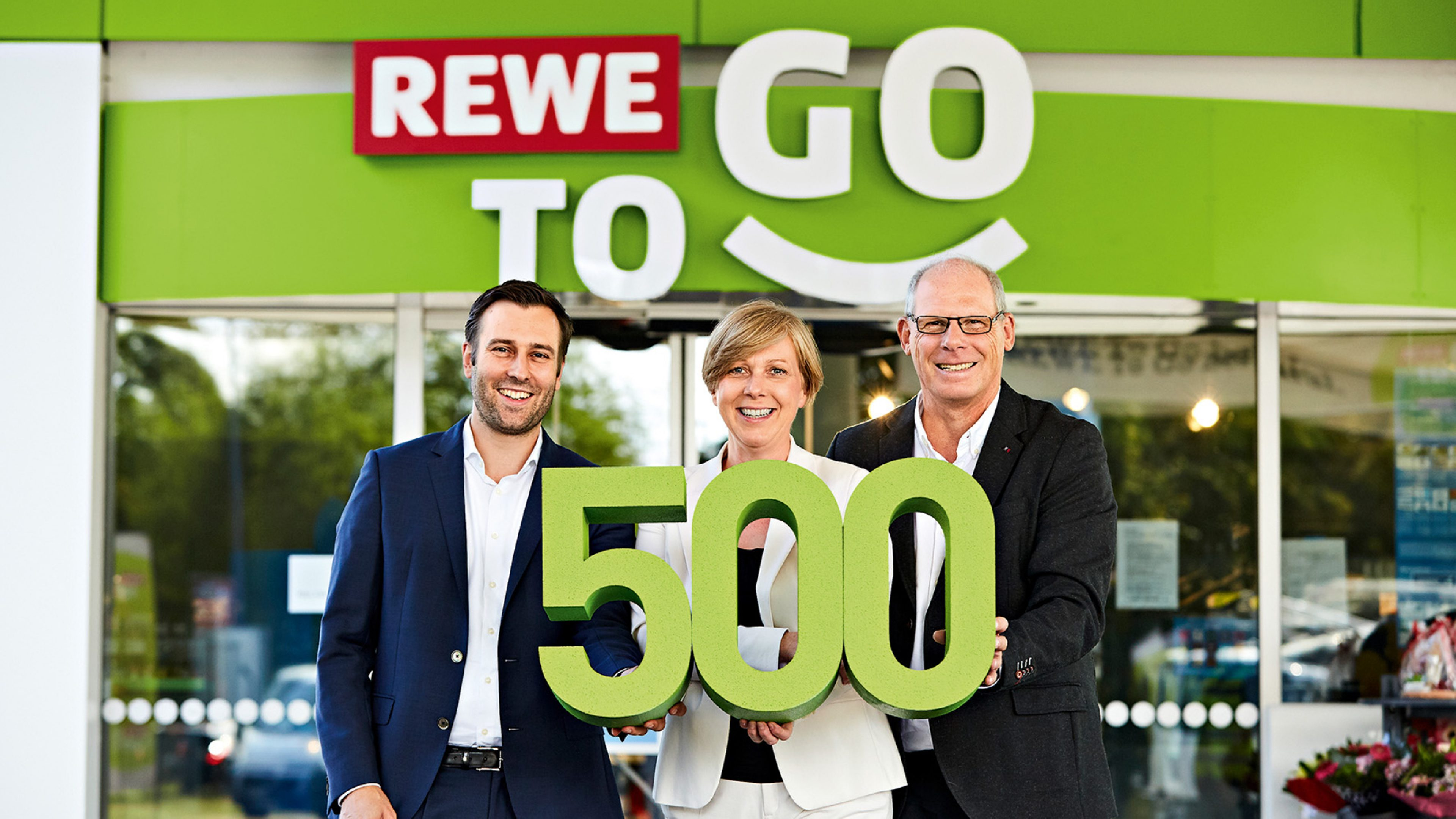 REWE To Go: 500 Mal bei Aral